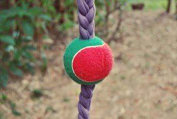 DIY Braid ball dog toy