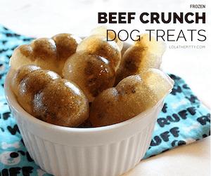 LolathePitty Beef Crunch Dog Treats